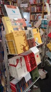 camden book store display