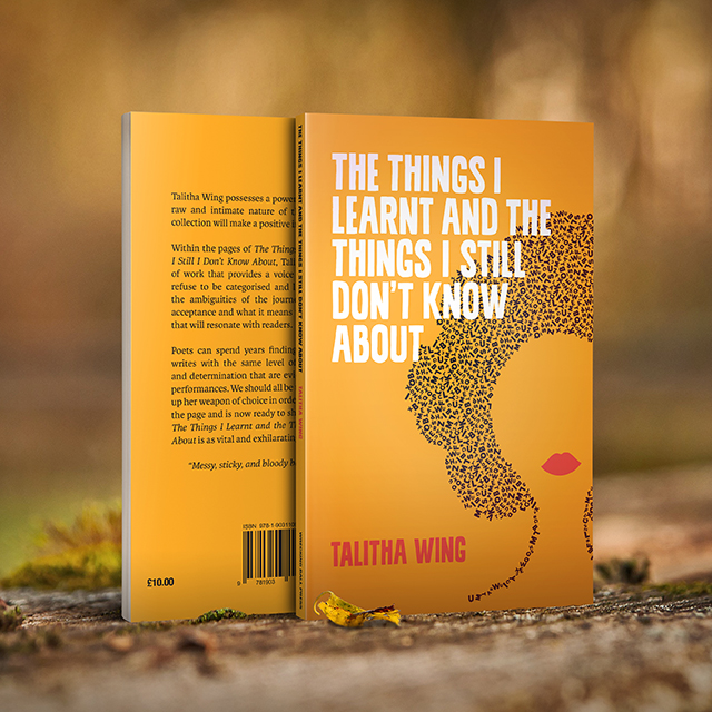 PRESS RELEASE: Talitha Wing's debut collection out now